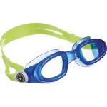 Scuba Diving & Swimming Accessories Thailand - Aqua Sphere Mako Goggles Clear Lens Blue Frame